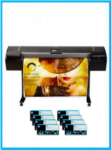 DesignJet Z5200 44-in Photo Printer - Recertified - (90 days Warranty) + Starter Supplies