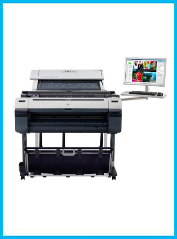 COLORTRAC Flex/SC42C MFP PRO scanner and Repro Stand
