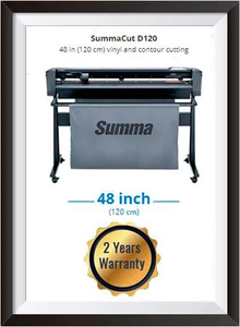 SummaCut D120 48 in (120 cm) vinyl and contour cutting - New + 2 YEARS WARRANTY
