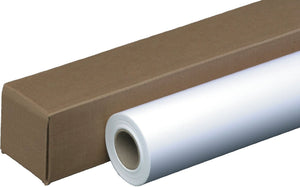 "60""x100' Coated Bond Paper - 2 inch core"