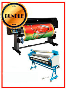 "BUNDLE - Plotter HP Z6100PS 42¨ Recertified (90 Days Warranty) + 55"" Full-Auto Low Temp. Cold Laminator, With Heat Assisted"