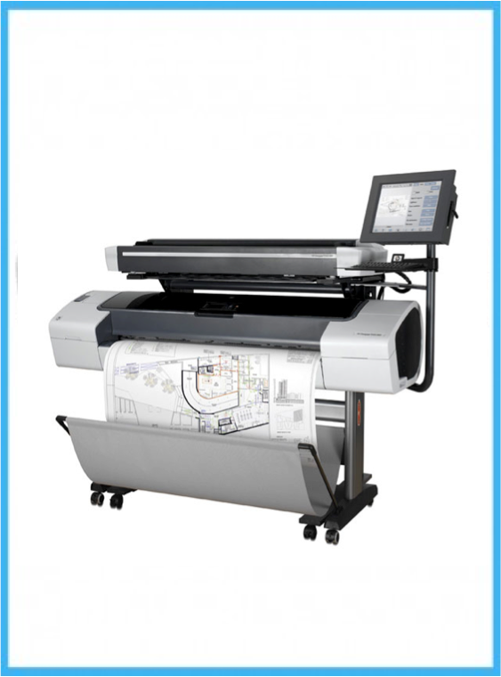 HP Designjet T1100 MFP 44-inch Printer - Refurbished - (1 Year Warranty)