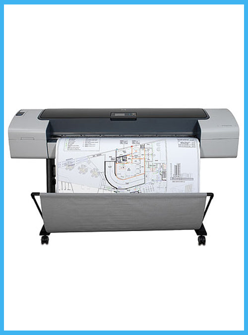 HP Designjet T1100 44-inch Printer  - Refurbished- (1 Year Warranty) Q6687A