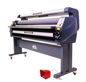 63in Wide Format Heat Assisted Cold Laminator, Enhanced Version