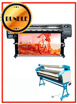BUNDLE - Plotter HP Latex 330 64¨ Recertified (90 Days Warranty) + 55