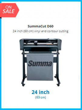 SummaCut D60 24 inch (60 cm) vinyl and contour cutting - New