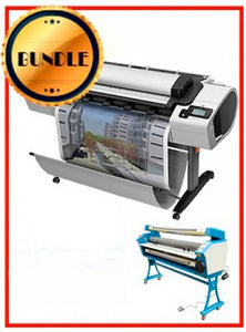 "BUNDLE - Plotter HP T2300PS 44¨ Recertified (90 Days Warranty) + 55"" Full-Auto Low Temp. Cold Laminator, With Heat Assisted"