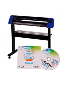 "25"" Vinyl Cutter with Stand with Cutter Software w/SCAL Pro, Make Signs (Mac & Windows)"