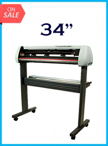 "34"" Vinyl Cutter with Stand with Cutter Software - New"