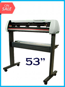 "53"" Vinyl Cutter with Stand with Cutter Software - New"