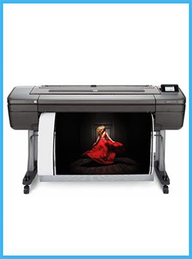 HP DesignJet Z9⁺ dual roll 44-in Postscript Printer with Vertical Trimmer (X9D24A)