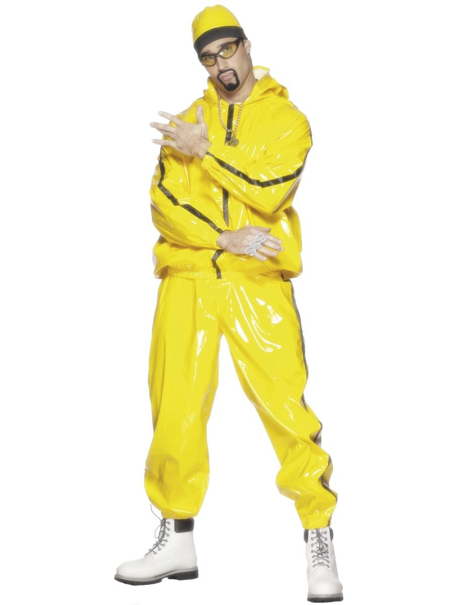 Adult Mens Gangster Rapper Ali G Staines Massive Style Suit (Large UK)