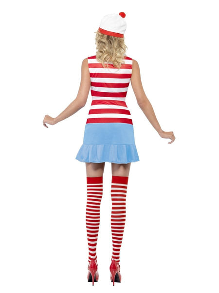 Womens Where's Wenda Fancy Dress Costume (Small & X Small)