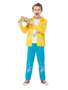 Childrens Roald Dahl Charlie Bucket Costume (Large) - Charlie and The Chocolate Factory