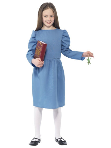Childrens Girls Roald Dahl Matilda Costume (Small)