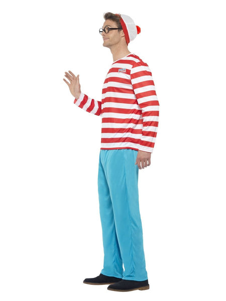 Mens Where's Wally Fancy Dress Costume (X Large)