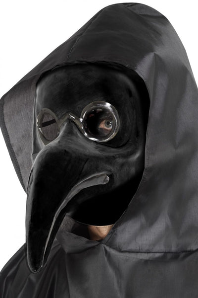Halloween Plague Doctor Fancy Dress Costume Add Plague Face Mask