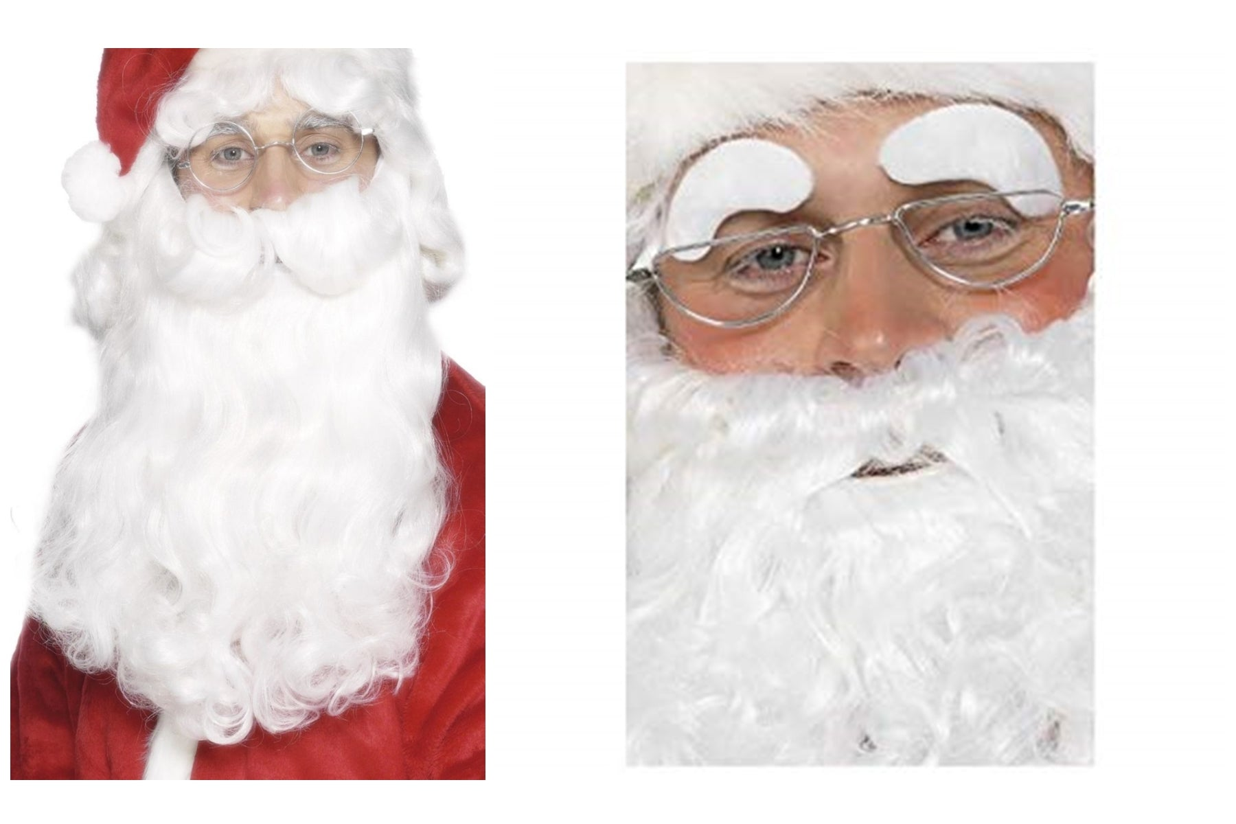 Adult Luxury Santa Father Christmas Beard and FREE Eyebrows Christmas New Year SALE