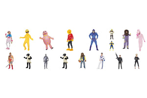 Smiffys Licensed Comic Cartoon Film & TV Character Fancy Dress Costume Hire.