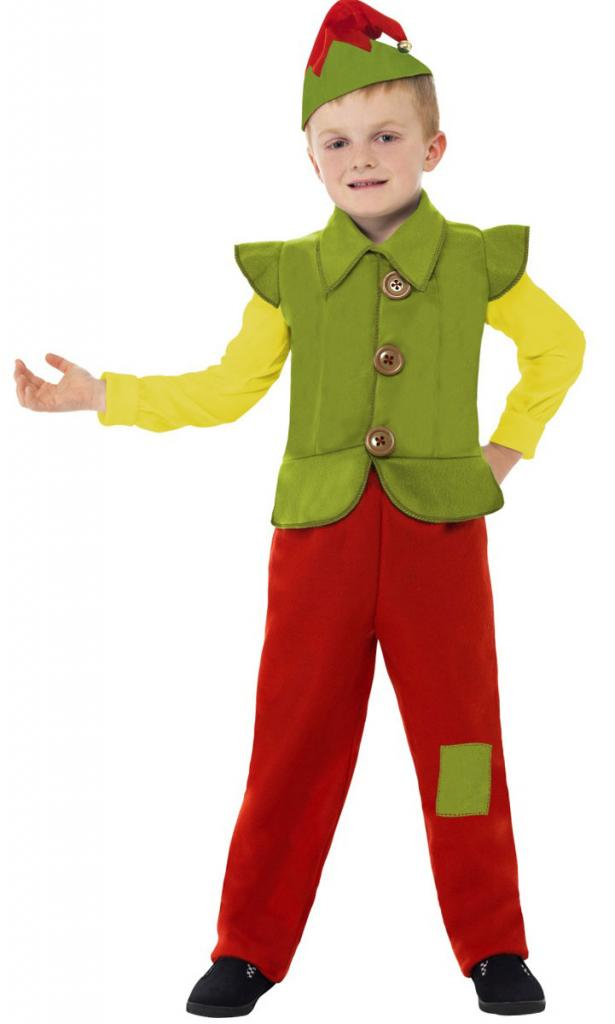 739d0fd47f24 Toddler Boys and Girls Christmas Elf Fancy Dress Party Costume - Santa's  Little Helper Grotto North ...