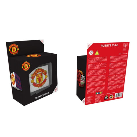 Licensed Manchester United Rubik Cube