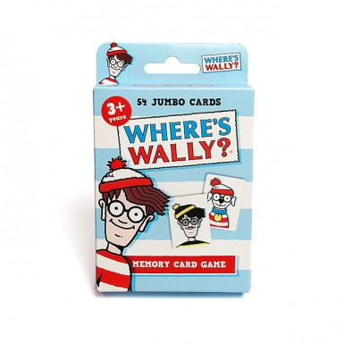 Where's Wally? Card Game - Great Family Fun Ft Woof and Wizard Whitebeard