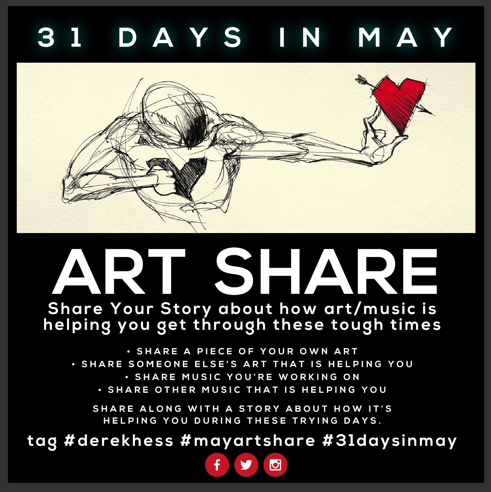 31 Days In May ART SHARE