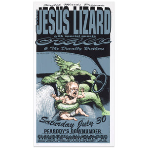 The Jesus Lizard w/ Craw & The Duvalby Brothers - Derek Hess
