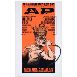 Alternative Press 10th Anniversary w/ Helmet, Flaming Lips & more - Derek Hess