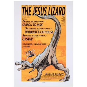 The Jesus Lizard - 3 Nights at the Euclid Tavern - Derek Hess