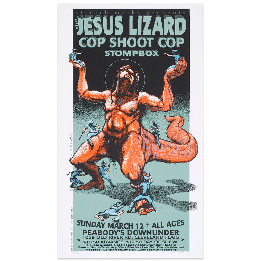 The Jesus Lizard w/ Cop Shoot Cop - Derek Hess