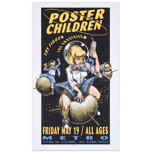 Poster Children w/ The Figgs & the smoothies - Derek Hess