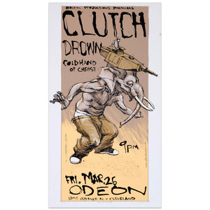 Clutch w/ Drown - Derek Hess