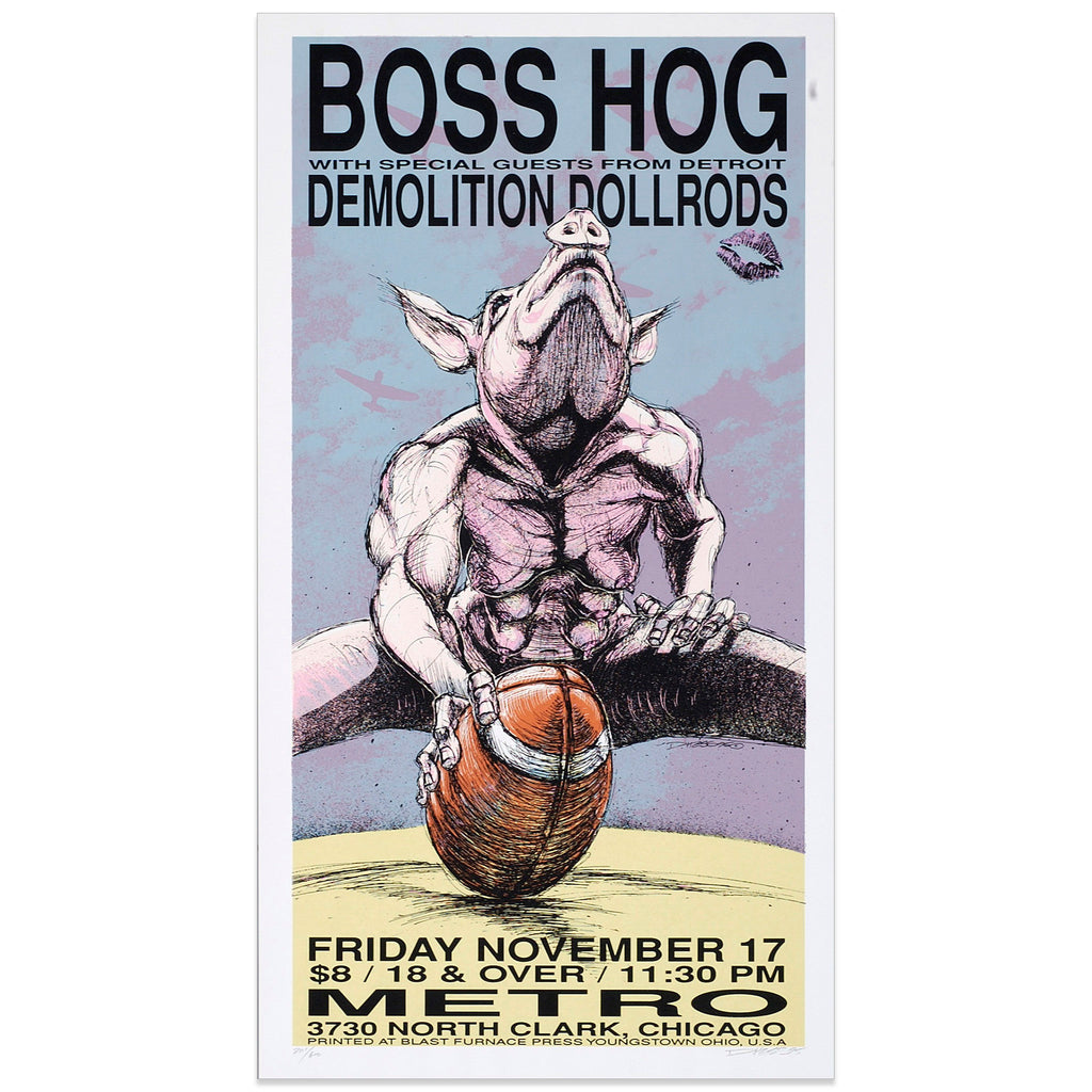 Boss Hog w/ The Demolition Dollrods - Derek Hess