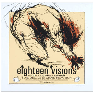 Eighteen Visions - Derek Hess