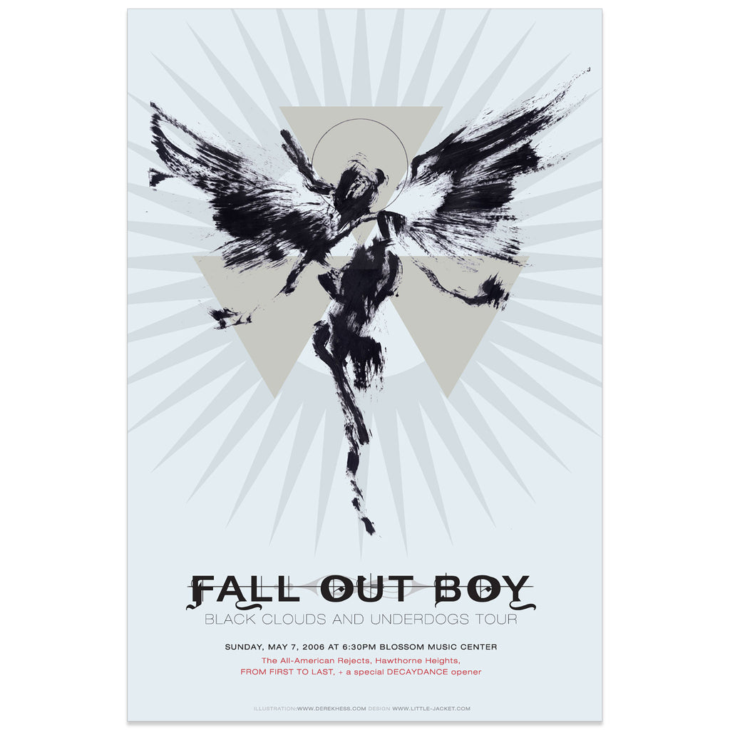 Fall Out Boy - Derek Hess