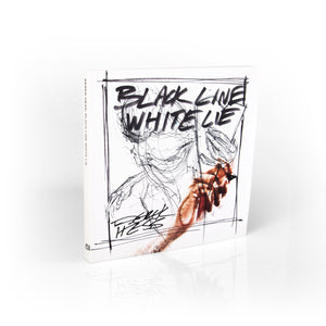 Black Line White Lie (Perfectbound) Book - Derek Hess