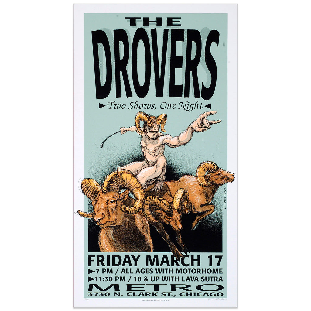 The Drovers - Derek Hess