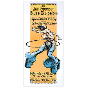 The Jon Spence Blues Explosion - Derek Hess
