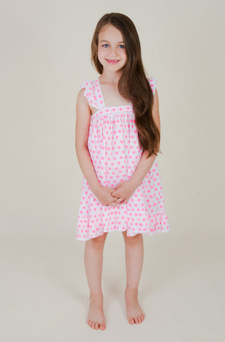 Polka Pink Resort Dress