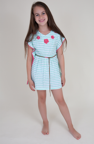 Seafoam Resort Dress - Kids
