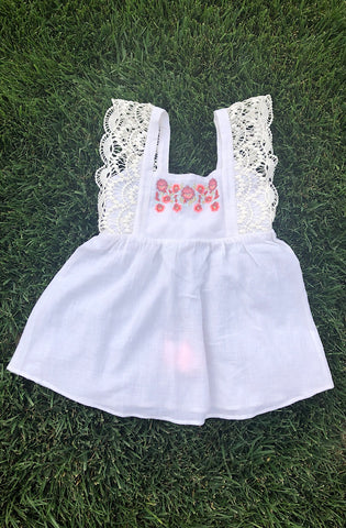 Provence Dress White (Kids)