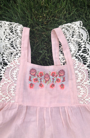 Provence Dress in White (Kids)