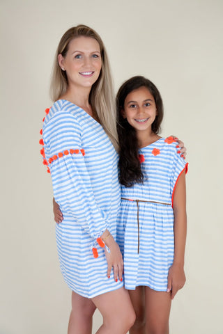 Sky Resort Dress - Kids