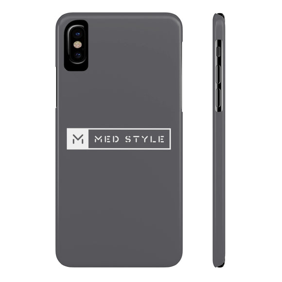 MedStyle (Case Mate) Slim Case ~ Gray