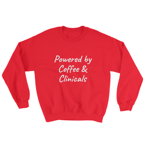 Coffee & Clinicals Sweatshirt ~ Gildan