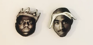 TUPAC AND BIGGIE EARRINGS