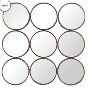 010-Mirror - Devet - 13 Hub Lane - Uttermost Wall Mirror