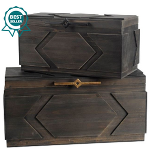 Cassia Large Decorative Box - 13 Hub Lane   |  Box