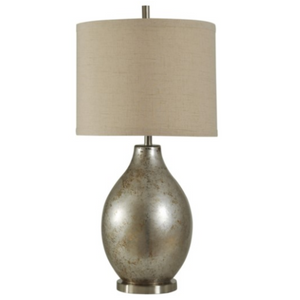 058-Table Lamp - Hudson Falls | Mercury Glass - 13 Hub Lane - Style Craft Table Lamp type_Lighting Type_Table Lamp